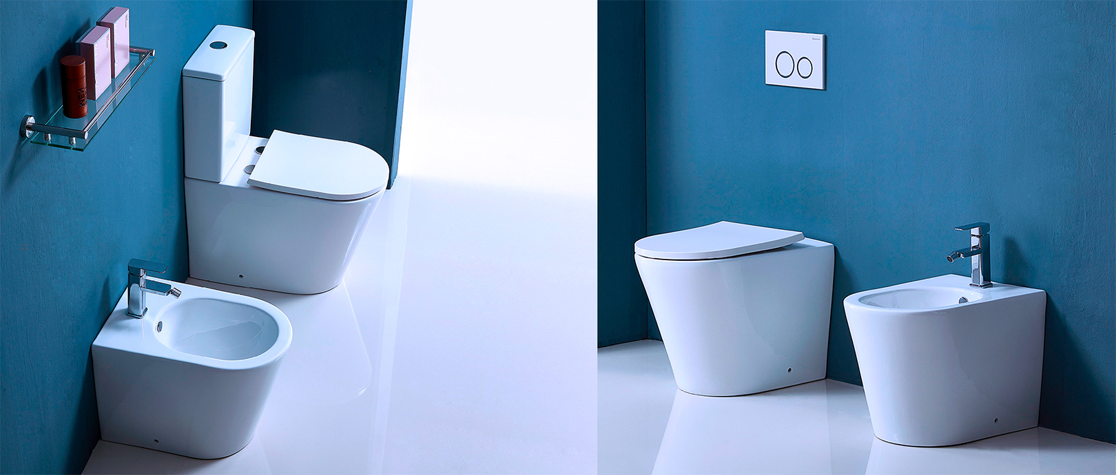 Luxury Rimless Toilet