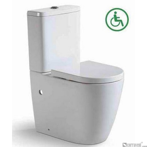 ME421 ceramic washdown two-piece toilet