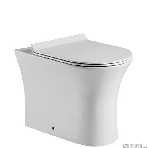 MT124 ceramic back-to-wall toilet pan