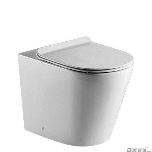 ME124 ceramic back-to-wall toilet pan