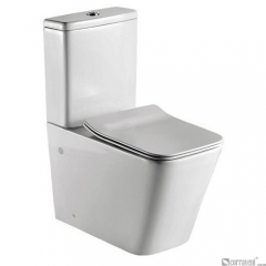 ME221 ceramic washdown two-piece toilet