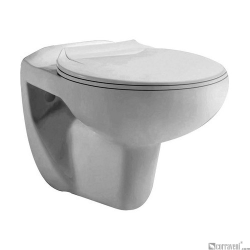 NR125 ceramic wall-hung toilet