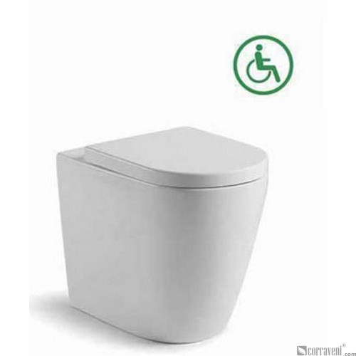 ME424 ceramic back-to-wall toilet pan