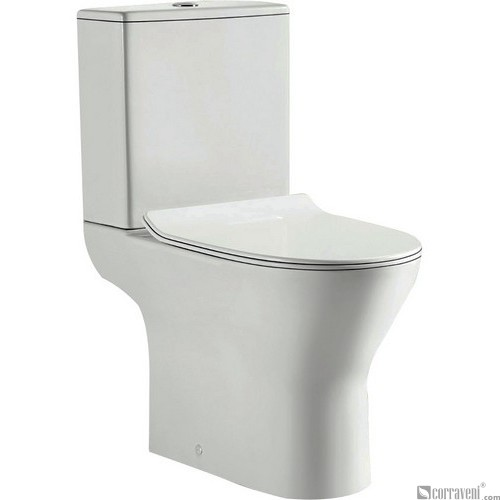 NR2121 ceramic washdown two-piece toilet