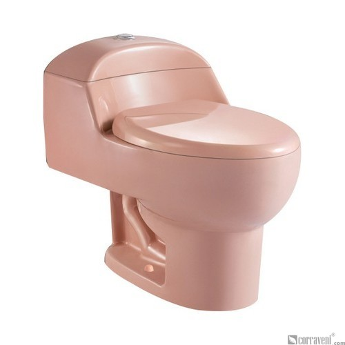 SH111-Apricot ceramic siphonic one-piece toilet