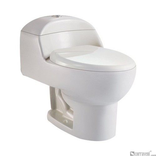 SH111-Ivory ceramic siphonic one-piece toilet