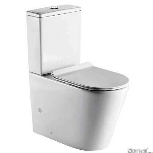 ME121 ceramic washdown two-piece toilet