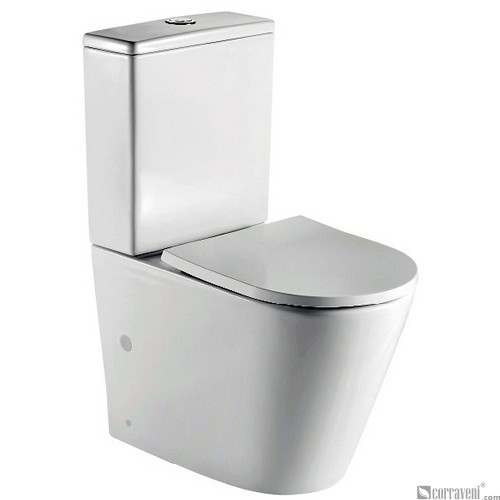ME121B ceramic washdown two-piece toilet