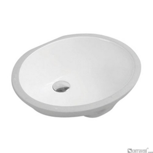 62201 under counter ceramic basin