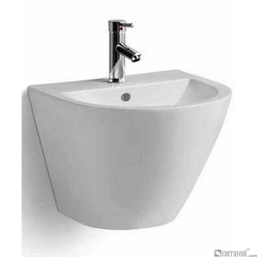 ME143 ceramic wall-hung washbasin