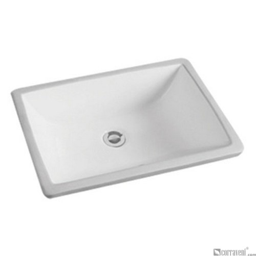 62210 under counter ceramic basin