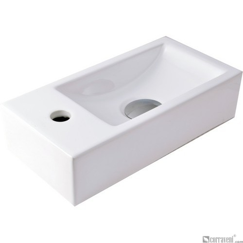 51021 ceramic wall-hung washbasin
