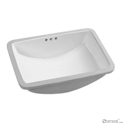 62211 under counter ceramic basin