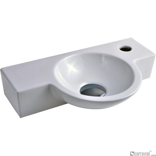 51023 ceramic wall-hung washbasin