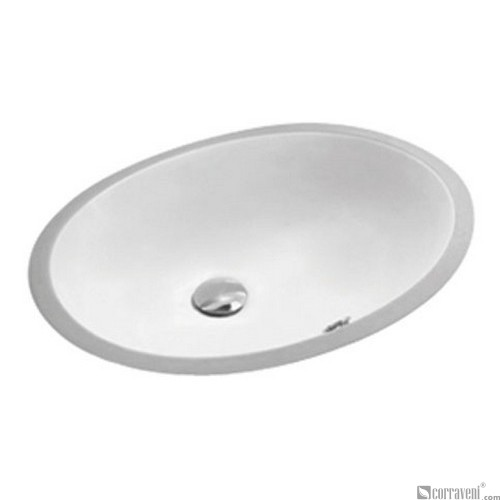 62202 under counter ceramic basin