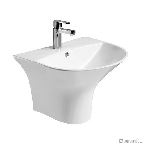 MT143 ceramic wall-hung washbasin