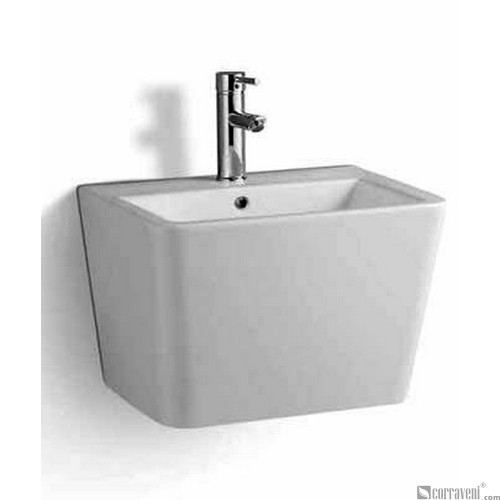 ME243 ceramic wall-hung washbasin