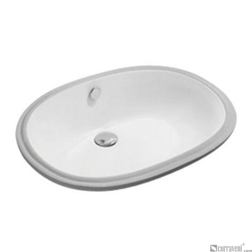 62209 under counter ceramic basin