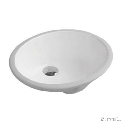 62204 under counter ceramic basin