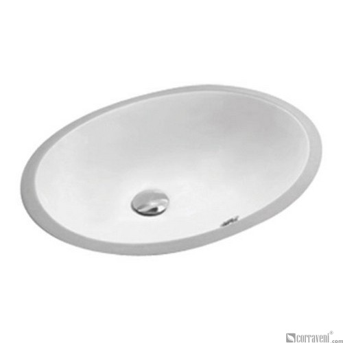 62203 under counter ceramic basin