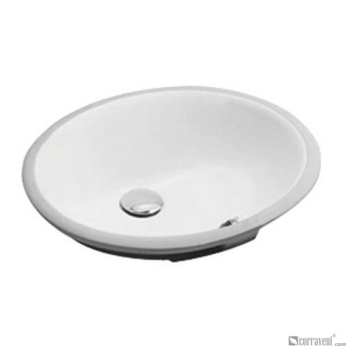 62207 under counter ceramic basin