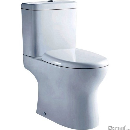 NR121 ceramic washdown two-piece toilet